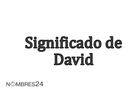 significado de david