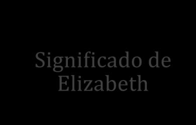 significado de elizabeth