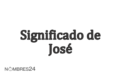significado de jose